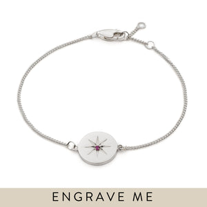 Birth Star Bracelet - Silver