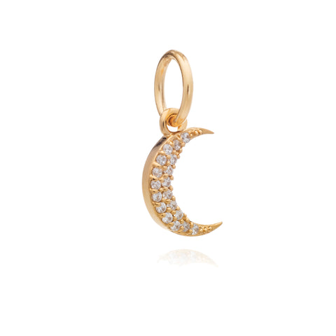 Mother of Daughters Moon Charm