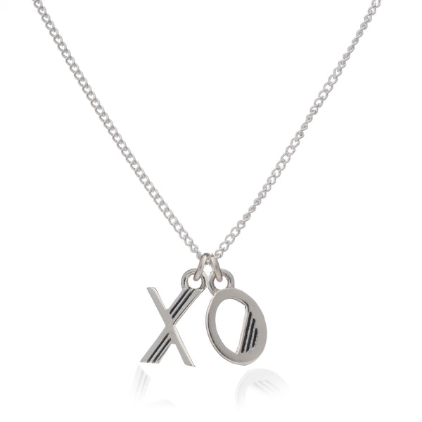 Hugs & Kisses Necklace - Gold