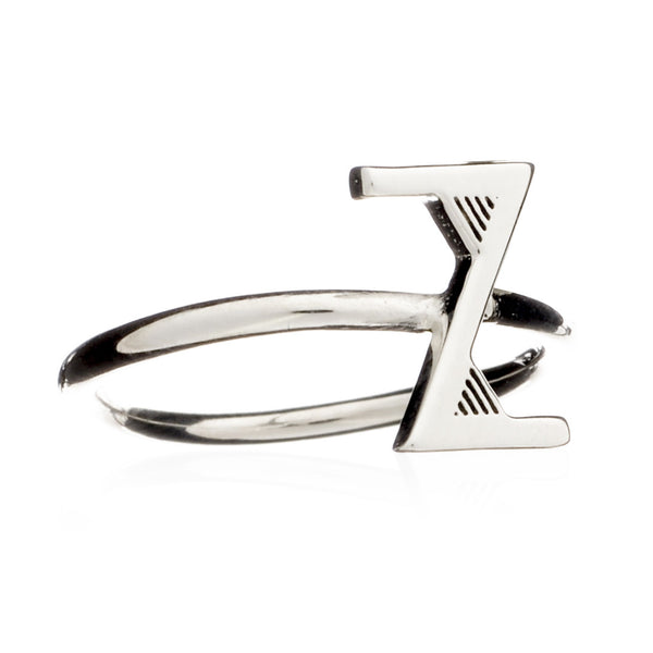Z Initial Ring - Adjustable