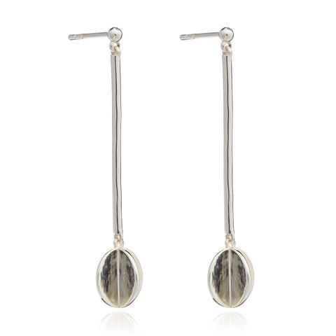 Orb Drop Earrings