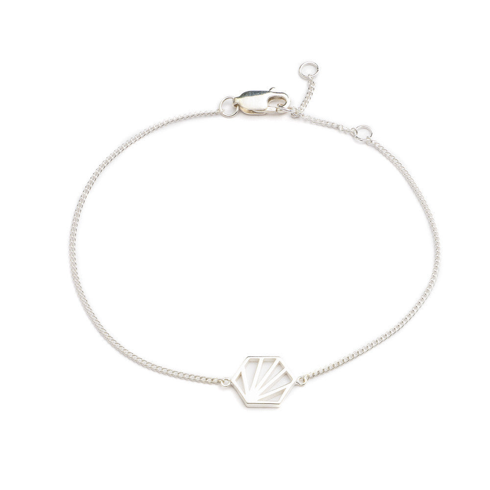 Hexagon Bracelet - Rachel Jackson London
