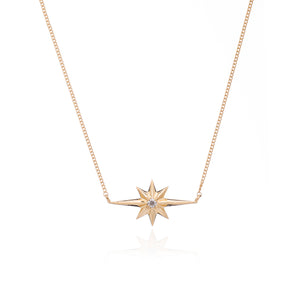 Rockstar Diamond Necklace - Gold Vermeil