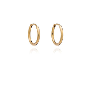Huggie Hoop Earrings - Gold