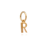 Mother of Daughters Initial charm mini gold Rachel Jackson London
