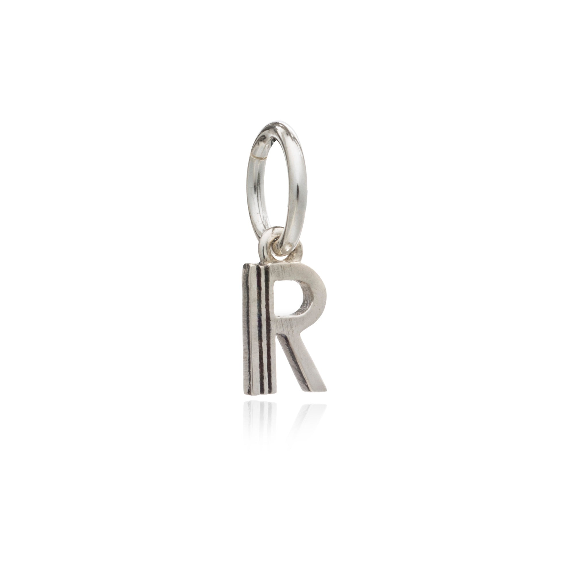 Mother of Daughters Initial charm mini silver Rachel Jackson London
