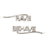 Rave Behave Crawler Earrings