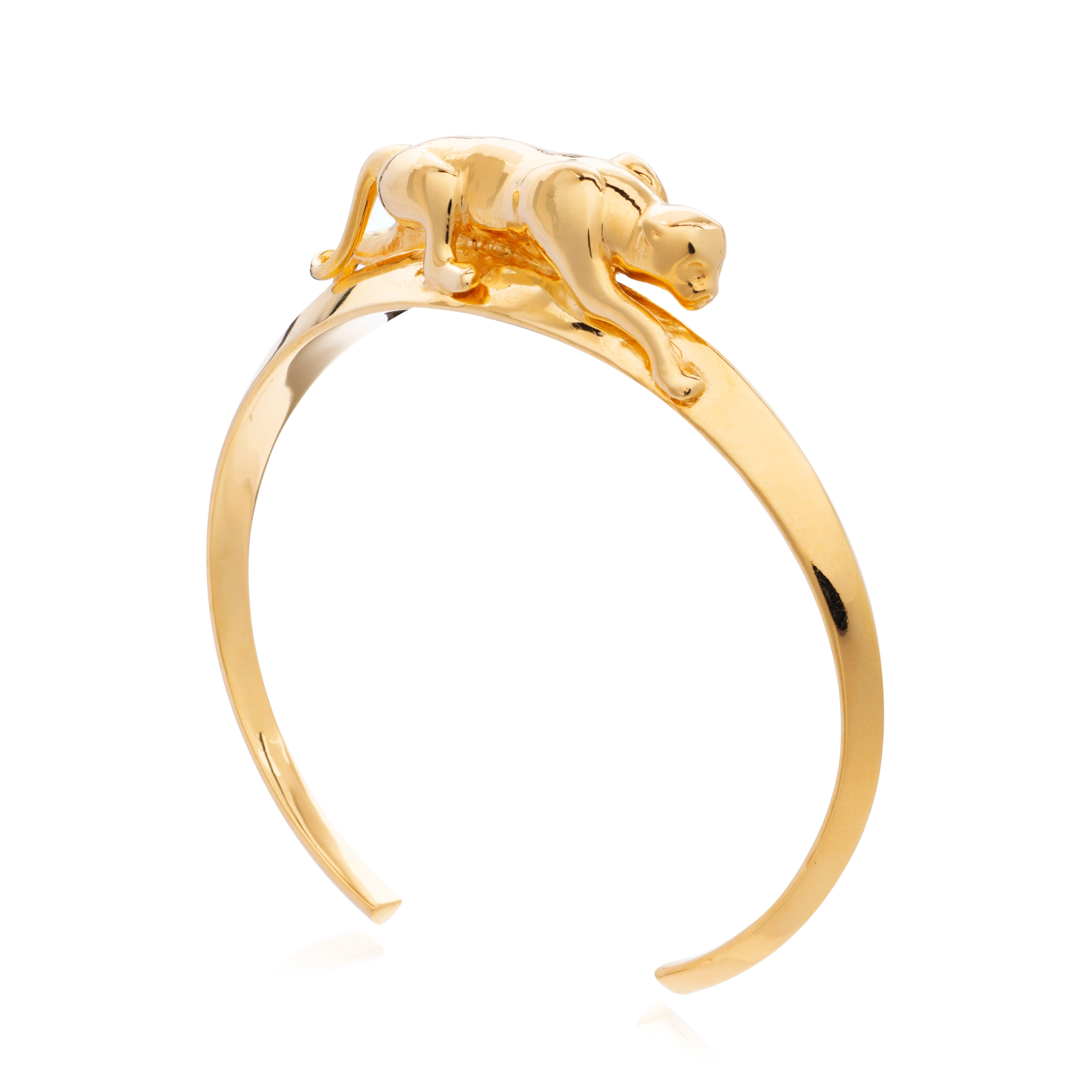gold cat bracelet Rachel Jackson London