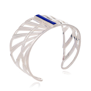 Wings of Freedom Cuff - Silver