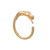 gold cat ring Rachel Jackson London