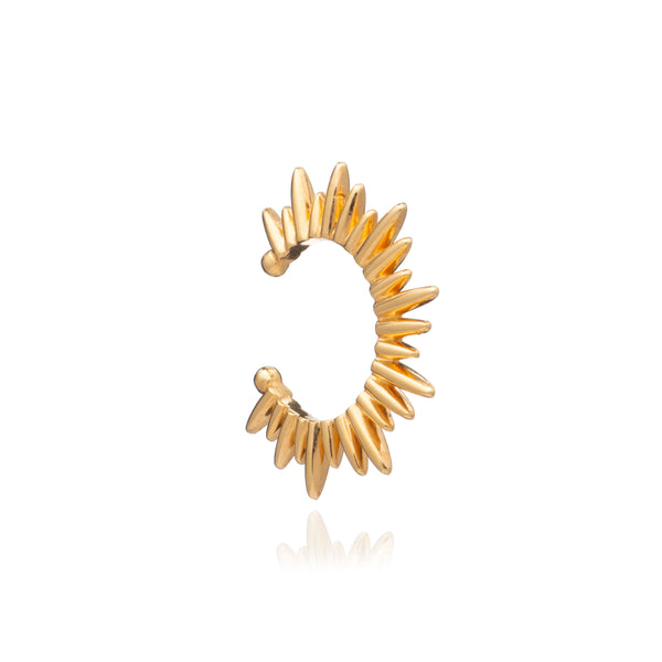 Electric Goddess Earring Cuff - Gold