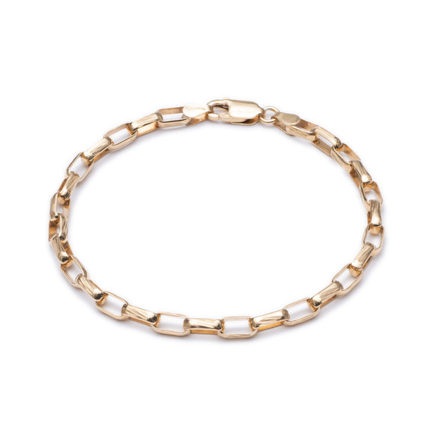 Box Chain Bracelet - Gold