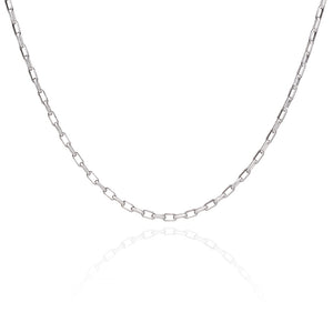Mid to Long Box Chain - Silver