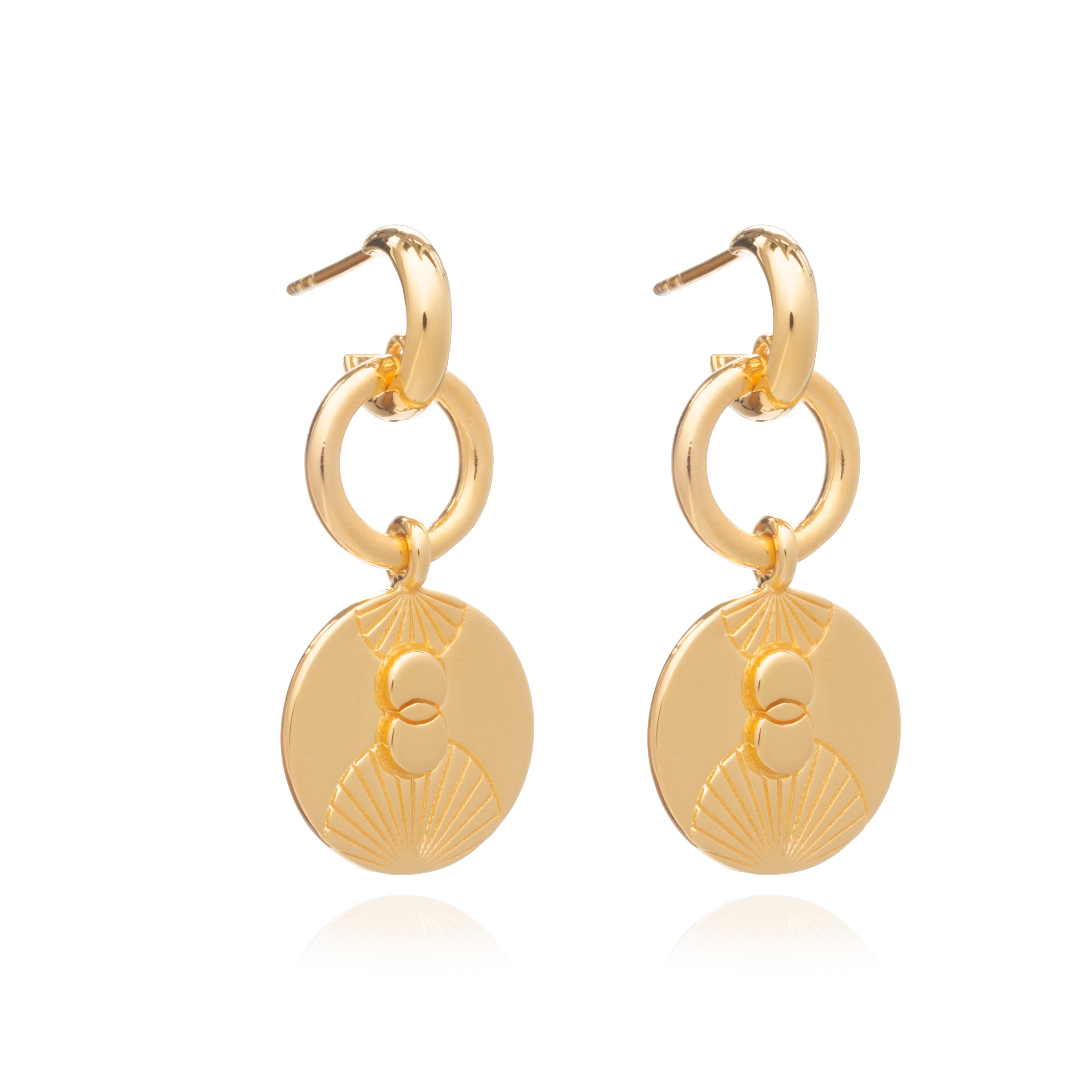 Luminary Statement Loop Earrings - Gold