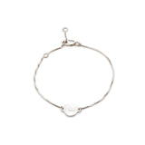 Luminary Art Coin Bracelet - Silver