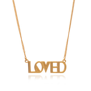 Loved Gold Necklace