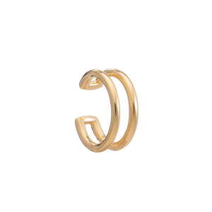 Linear Gold Ear Cuff