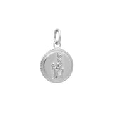 Ancient Coin Charm - Silver