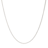 Mother of Daughters Chain necklace mid length silver Rachel Jackson London
