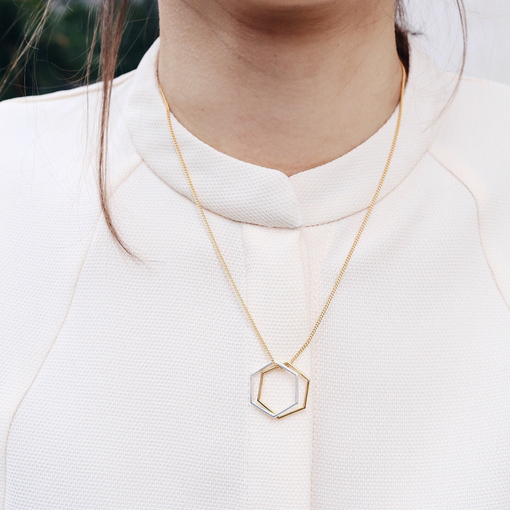 products two rings necklace zazen bear