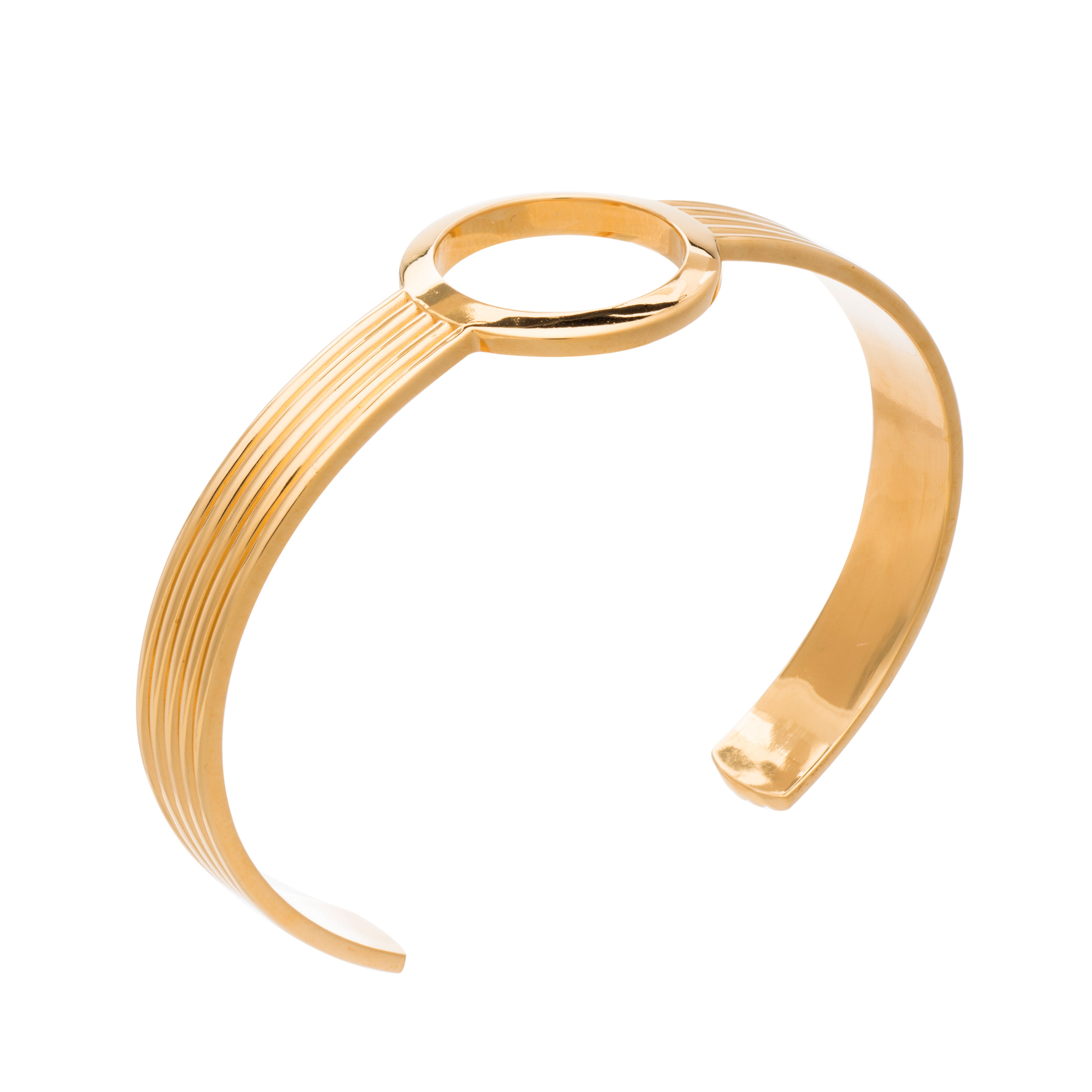 Eternity Circle Gold Bangle