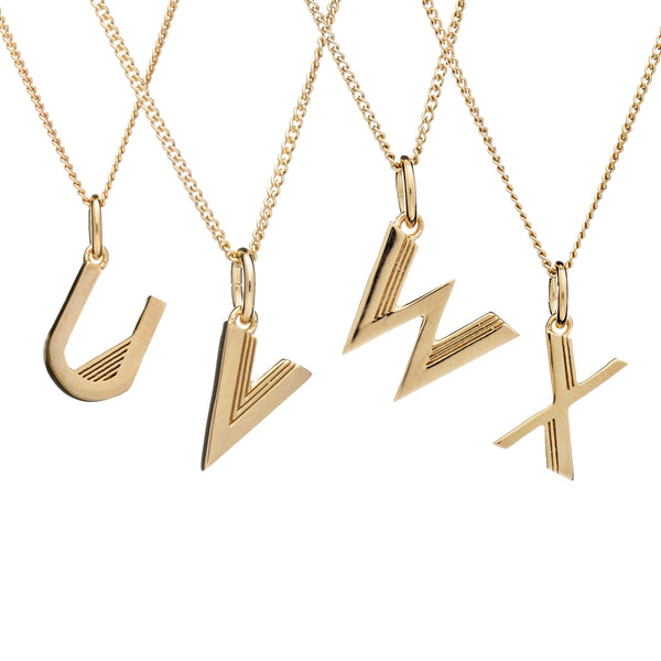 Initial Necklace - Rachel Jackson London
