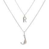 Mini and Me Necklace - Silver
