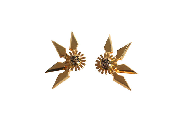 Star Sun Earrings
