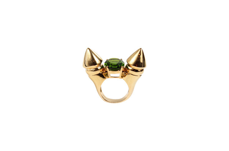 SPIKE COCKTAIL RING