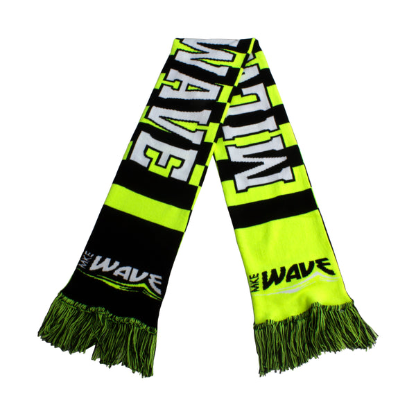 Wave Striker Knit Scarf