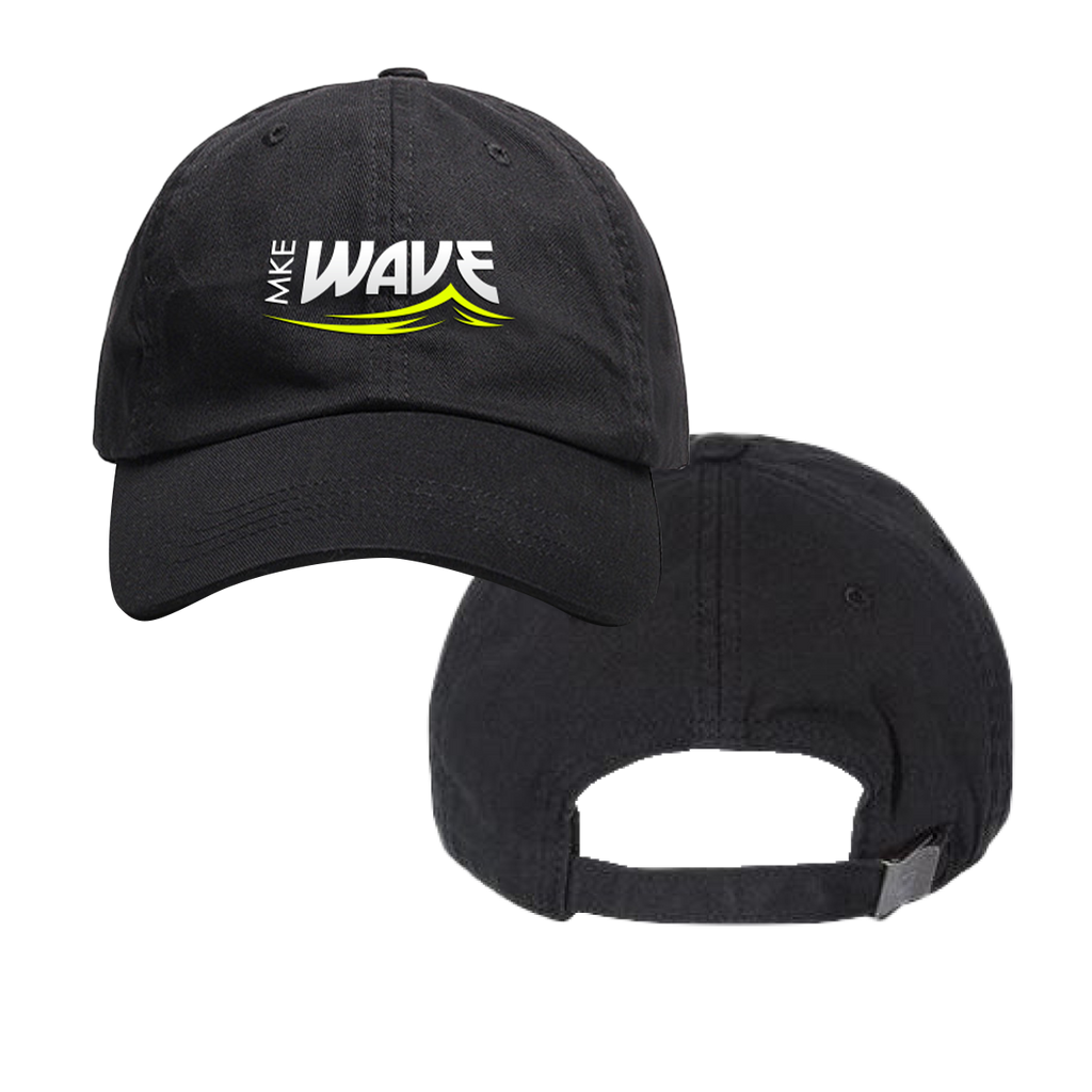 MKE WAVE - DAD HAT (unstructured)