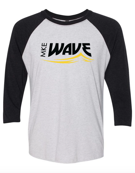 3/4 SLEEVE RAGLAN TEE - ADULT