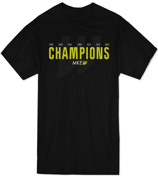 Milwaukee Wave World Champions Tee