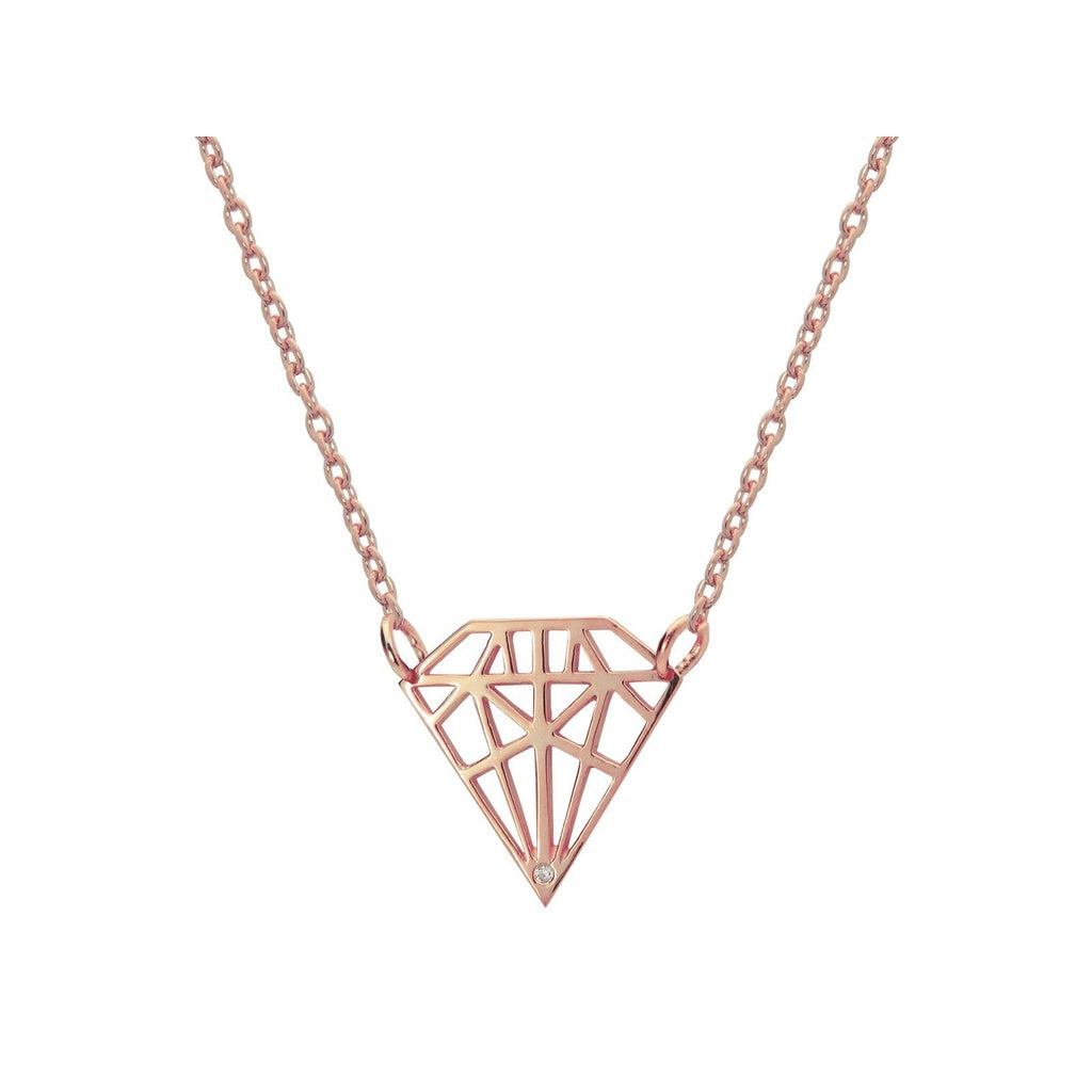 Diamond shaped pendant sassi apparel diamond shaped pendant aloadofball Image collections