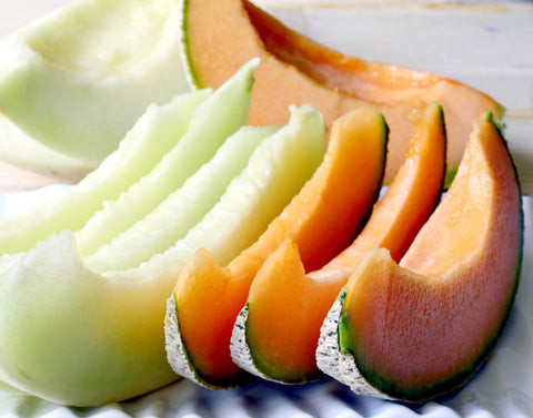 Melons, Honey Dew Green Flesh
