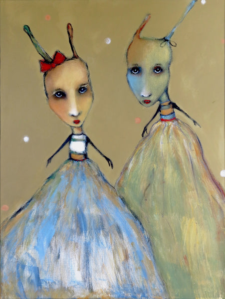 "SOLD   ""Night Creatures Don Their Tutus"""