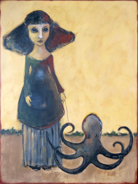 "SOLD  ""Unperturbed by Her Peculiarity"""