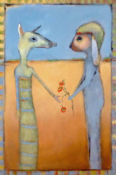 "SOLD   ""Uniquely Suited to One Another"""