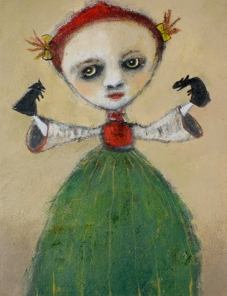 "SOLD   ""Molly Takes Control of Her Little Monsters"""