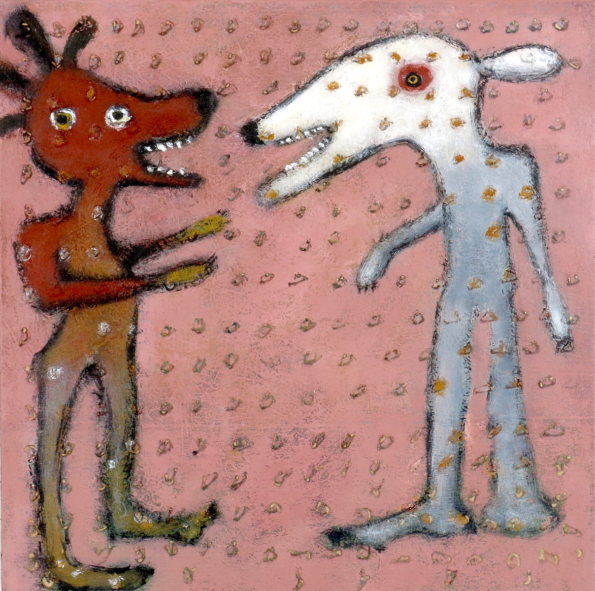 """SOLD   """"Recounting Stories of Tooth and Claw"""""""