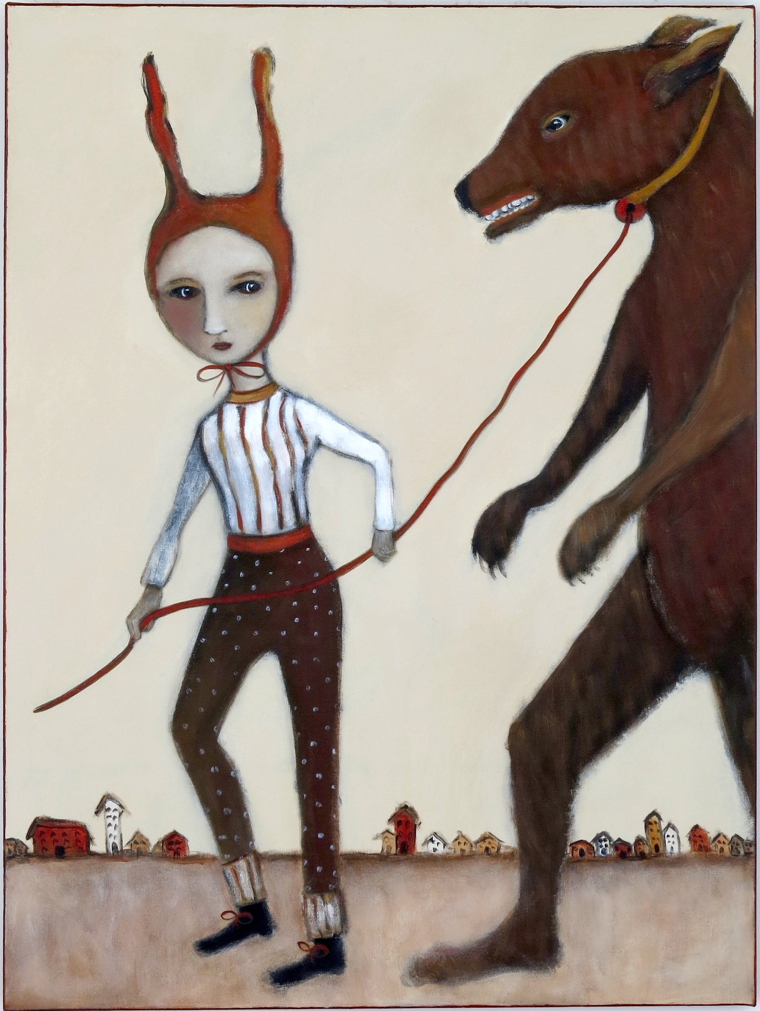 "Sold   ""Keeping A Close Eye And A Short Leash On Her Fears"""