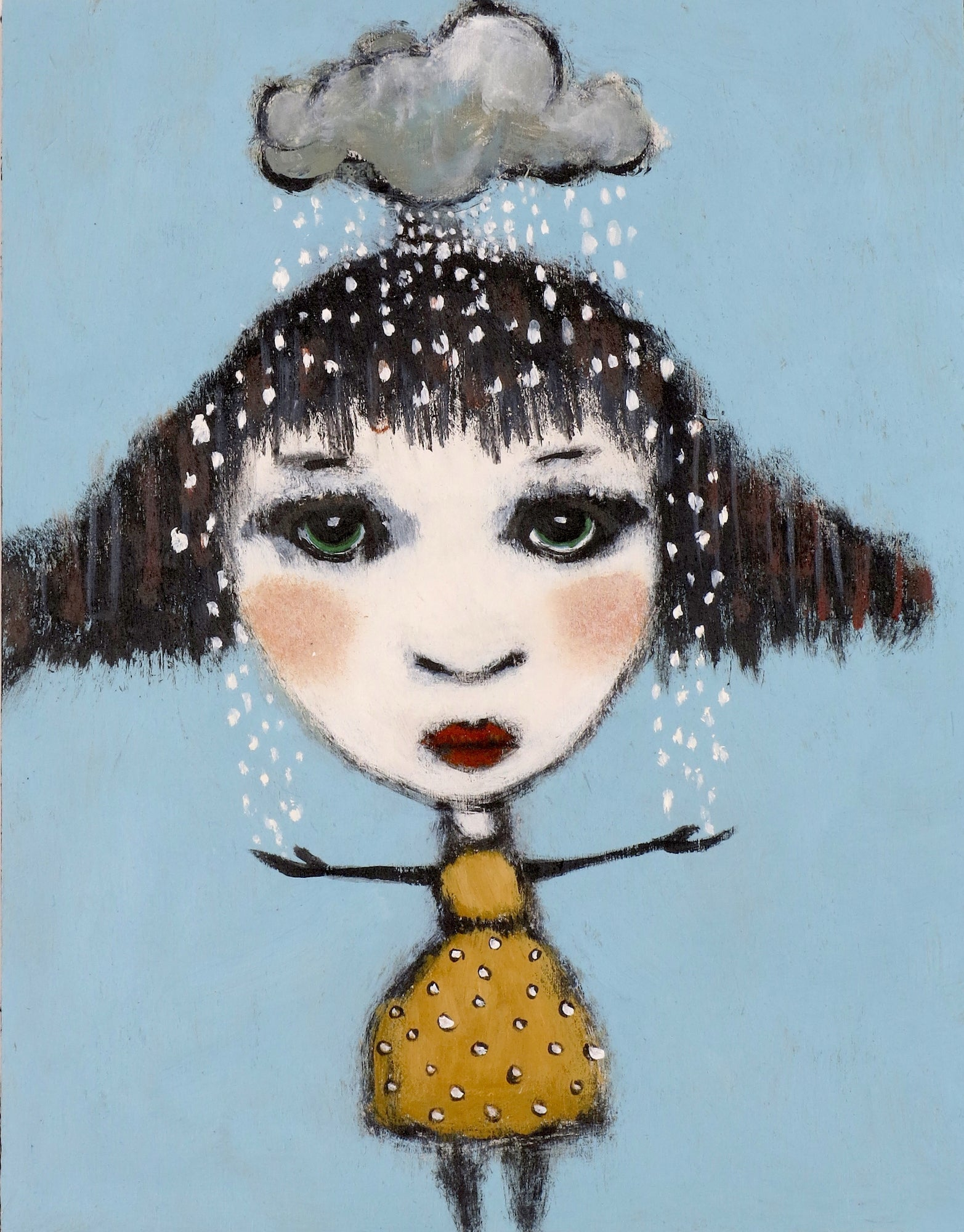 "SOLD   ""And Wherever Lizzy Went, Her Thundercloud Was Sure To Go"""
