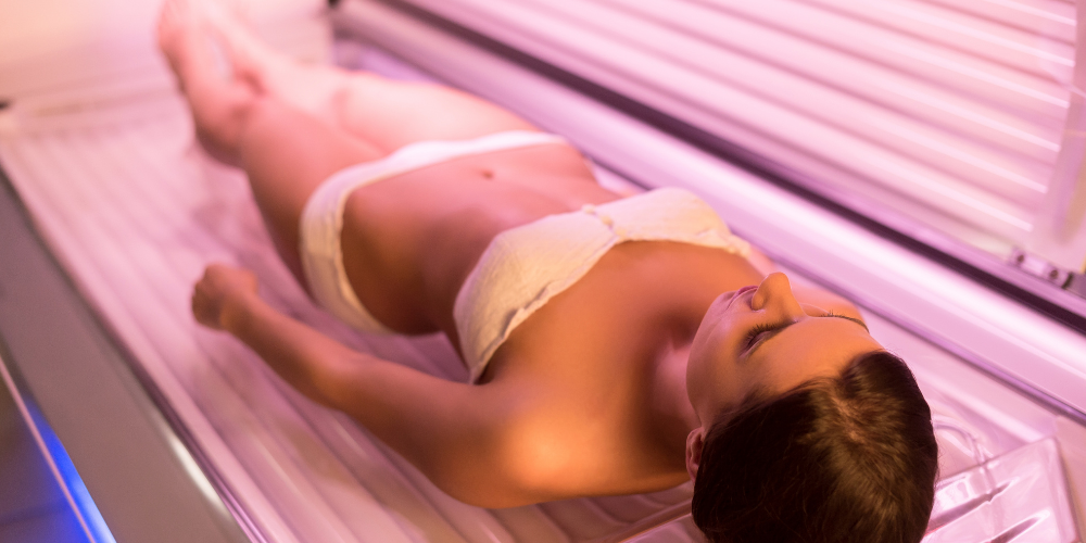 tanning is not your friend - tanning bed