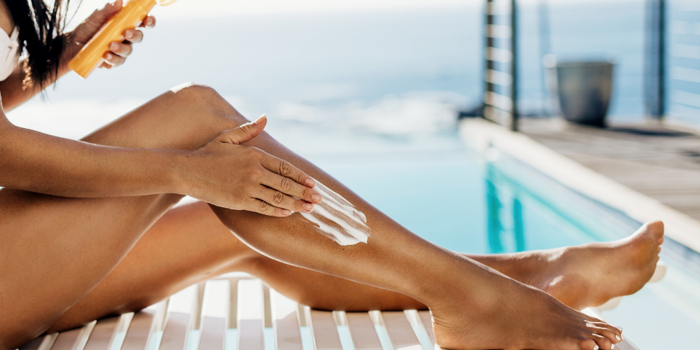 tanning is not your friend - sunscreen