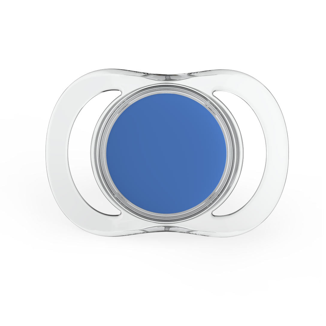 Pacif-i Bluetooth smart pacifier in blue