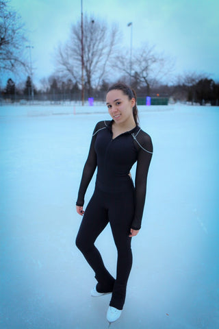 Colorflow Skater Feature Alexarae Sackett On Fashion Design On Ice C Colorflow Skating