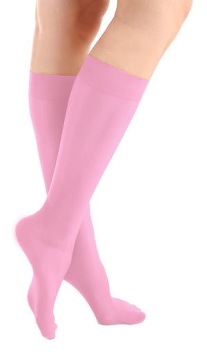 Graceful Pink Skating Socks (2 Pairs)