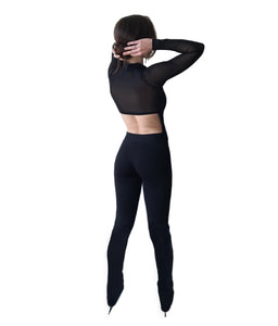 Limited Edition Black Mesh Raglan FlowSuit