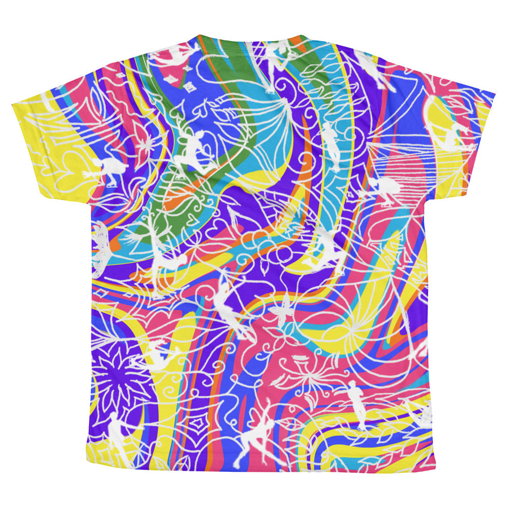 ColorFlow Classic Tee Rainbow (Youth)