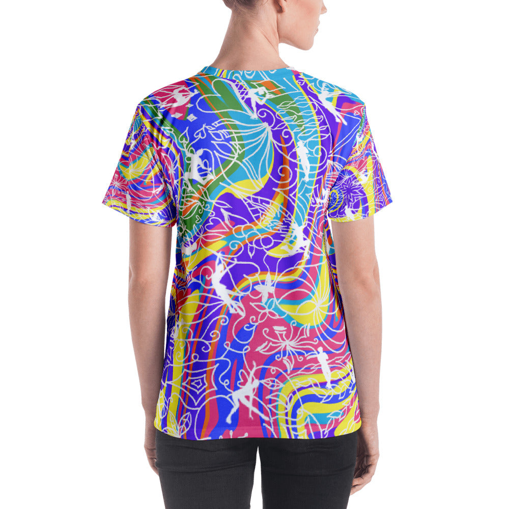 ColorFlow Classic Tee Rainbow T-shirt (Adult)